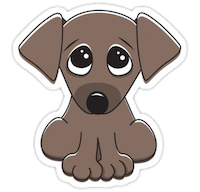 PuppyMoji - Awesome Emoji and Stickers messages sticker-1