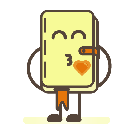 Busy Notepad messages sticker-7