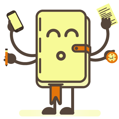 Busy Notepad messages sticker-6