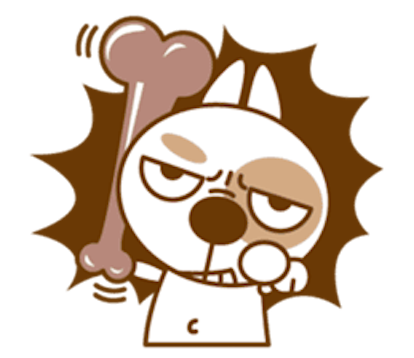 Funny Little Dog 2 messages sticker-8