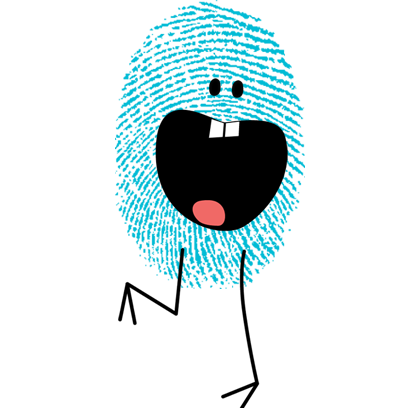 Fingerprint Me Stickers! messages sticker-7