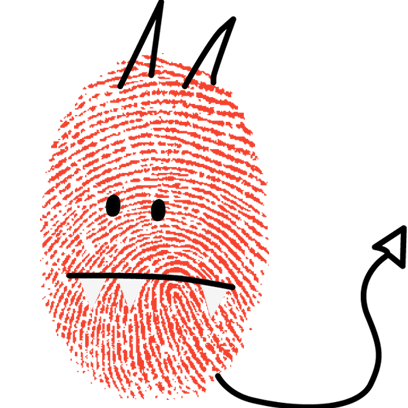 Fingerprint Me Stickers! messages sticker-6