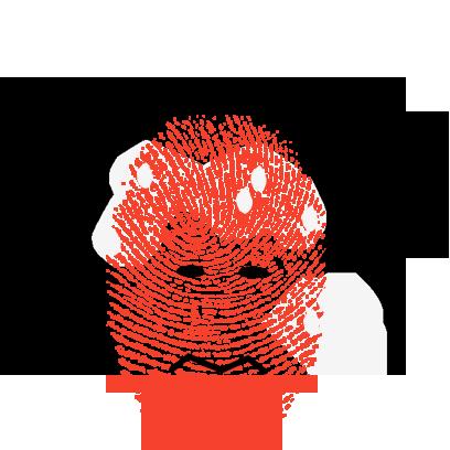 Fingerprint Me Stickers! messages sticker-4