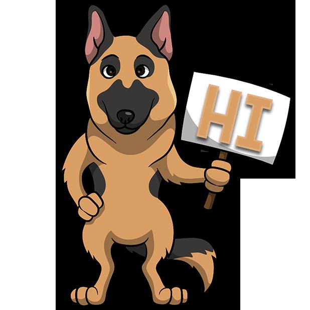 ShepherdMoji - German Shepherd Emoji & Sticker messages sticker-10