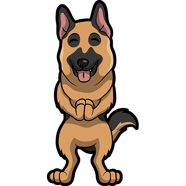 ShepherdMoji - German Shepherd Emoji & Sticker messages sticker-11
