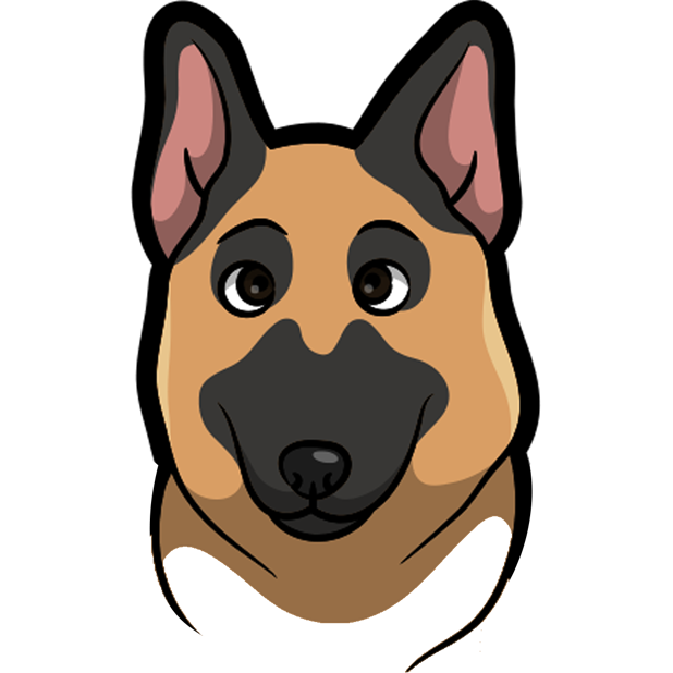 ShepherdMoji - German Shepherd Emoji & Sticker messages sticker-0