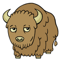 BuffaloMix - Buffalo Cool Emoji And Stickers messages sticker-7