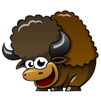 BuffaloMix - Buffalo Cool Emoji And Stickers messages sticker-8