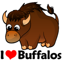 BuffaloMix - Buffalo Cool Emoji And Stickers messages sticker-0