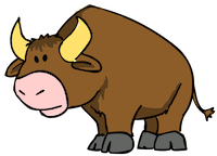 BuffaloMix - Buffalo Cool Emoji And Stickers messages sticker-1