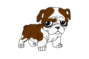 Bulldog Cute - Awesome Emoji And Stickers messages sticker-7