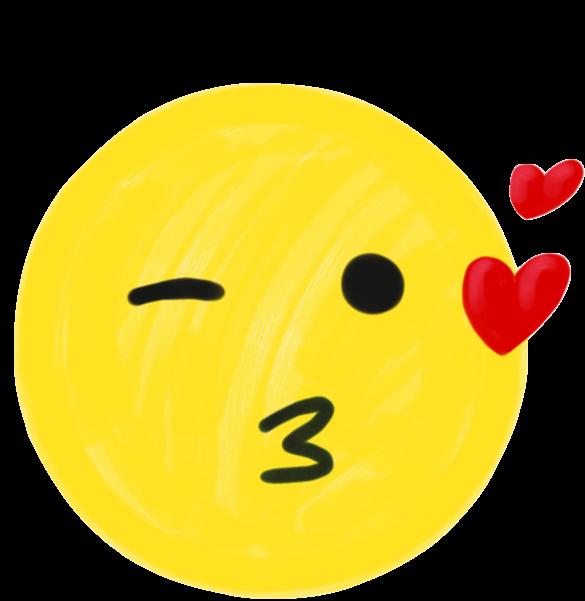 Sketch Emoji messages sticker-9