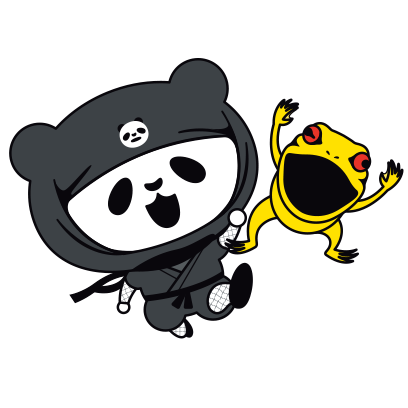 PANDA Ninja Panzo messages sticker-6