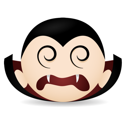 Vampire Emojis messages sticker-7