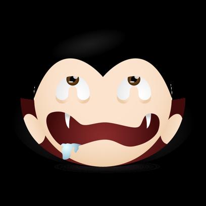 Vampire Emojis messages sticker-3