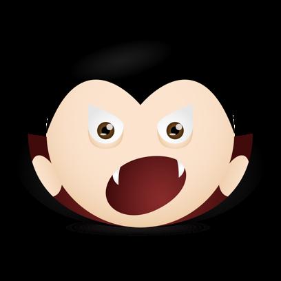 Vampire Emojis messages sticker-0