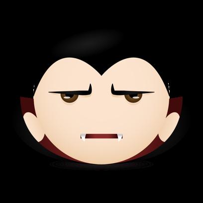 Vampire Emojis messages sticker-6