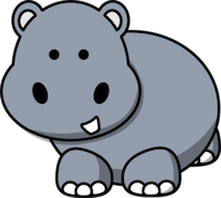 HippoCute - Hippo Emoji And Stickers messages sticker-1