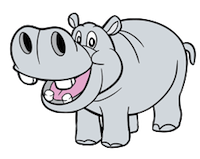 HippoCute - Hippo Emoji And Stickers messages sticker-6