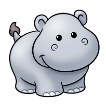 HippoCute - Hippo Emoji And Stickers messages sticker-0