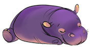 HippoCute - Hippo Emoji And Stickers messages sticker-8