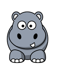HippoCute - Hippo Emoji And Stickers messages sticker-2