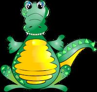 Alligator Stickers messages sticker-8