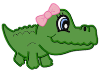 Alligator Stickers messages sticker-2