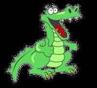 Alligator Stickers messages sticker-4