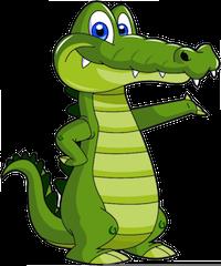 Alligator Stickers messages sticker-0