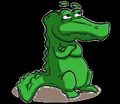 Alligator Stickers messages sticker-1