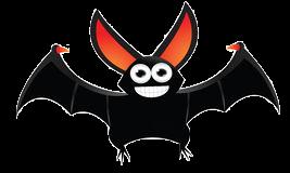 Bat Stickers messages sticker-5