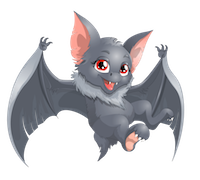 Bat Stickers messages sticker-7