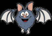 Bat Stickers messages sticker-9