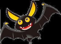Bat Stickers messages sticker-3