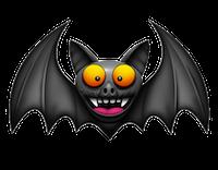 Bat Stickers messages sticker-6