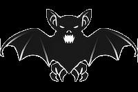 Bat Stickers messages sticker-1