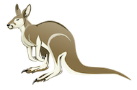 Kangaroos Stickers messages sticker-4
