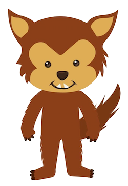 WolvesCute - Awesome Wolves Emoji And Stickers messages sticker-6