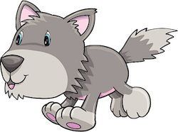 WolvesCute - Awesome Wolves Emoji And Stickers messages sticker-4
