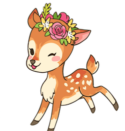 DeerCute - Deer Stickers And Emoji Pack messages sticker-3