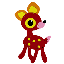 DeerCute - Deer Stickers And Emoji Pack messages sticker-7