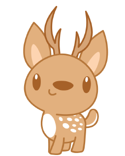 DeerCute - Deer Stickers And Emoji Pack messages sticker-9