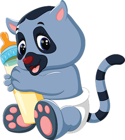 Lemurs Stickers messages sticker-11