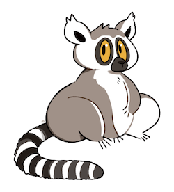 Lemurs Stickers messages sticker-7