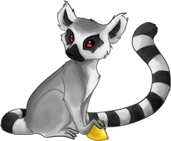 Lemurs Stickers messages sticker-6