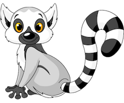 Lemurs Stickers messages sticker-9