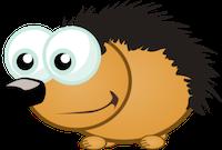 Porcupine Stickers messages sticker-1