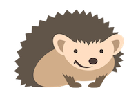 Porcupine Stickers messages sticker-9