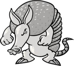 Armadillos Stickers messages sticker-8
